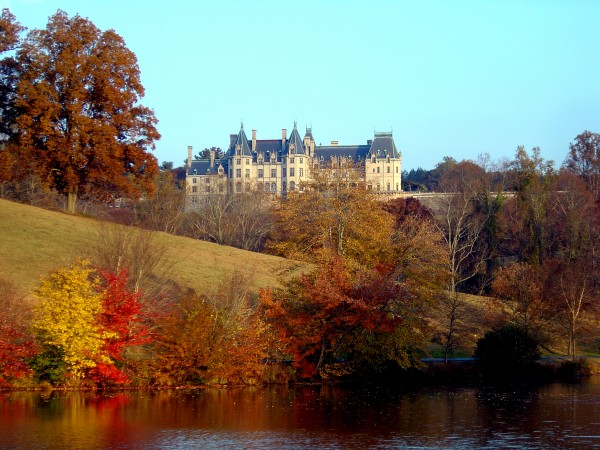 Biltmore From Pond 110505