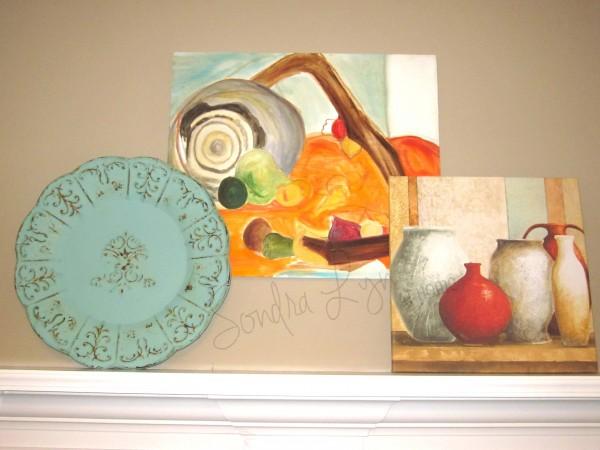 Summer-Mantle-Detail3- Sondra Lyn at Home