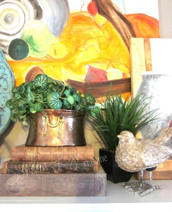 Summer-Mantle-Detail5- Sondra Lyn at Home