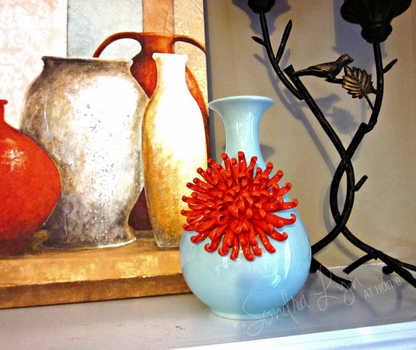 Summer-Mantle-Vase- Sondra Lyn at Home