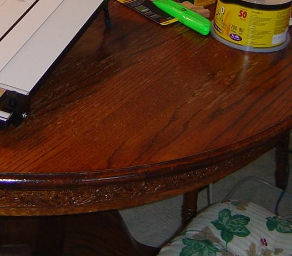 Kitchen Table Redo 2