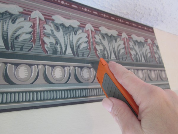 how to remove a wallpaper border sondra lyn at home