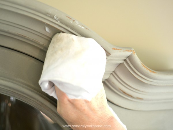 China Cabinet Chalk Paint Makeover- Sondra Lyn at Home