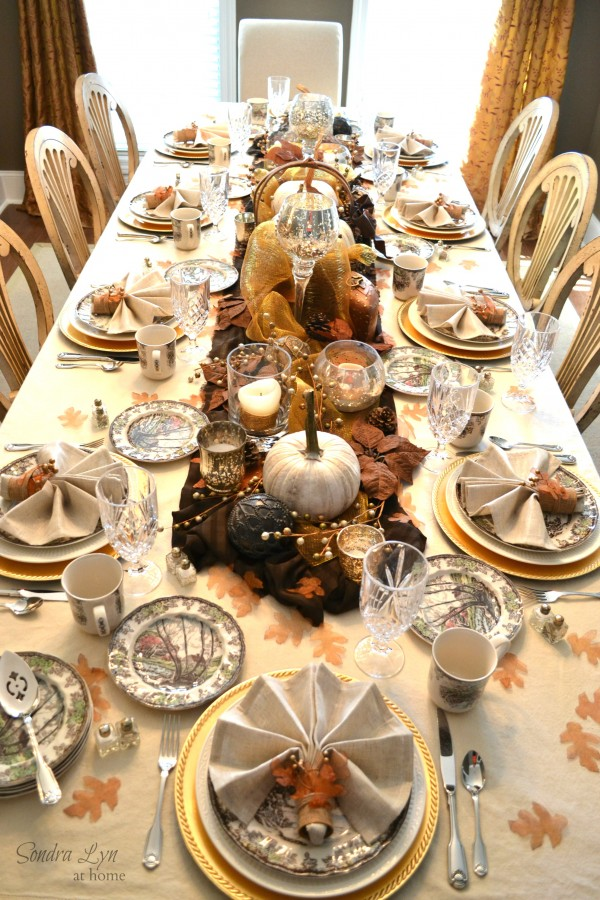 Fall decor and crafts for thanksgiving creative reader Fall decorating ideas for dinner party