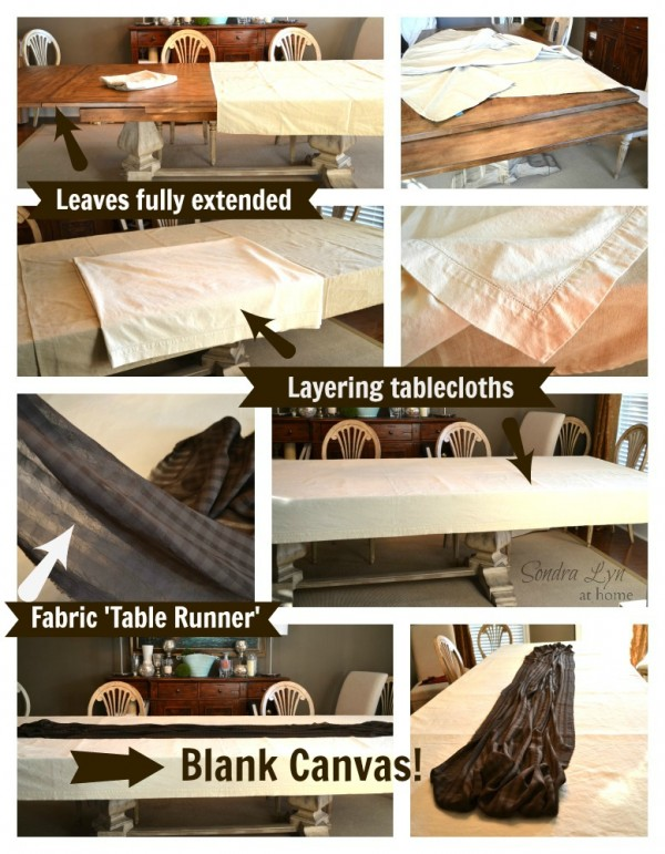 Beautiful Rustic Glam Tablescape- How to Layer-Sondra Lyn at Home