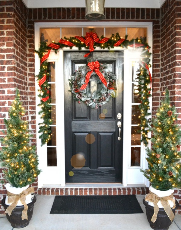 Christmas Home Tour- Entry-Sondra Lyn at Home