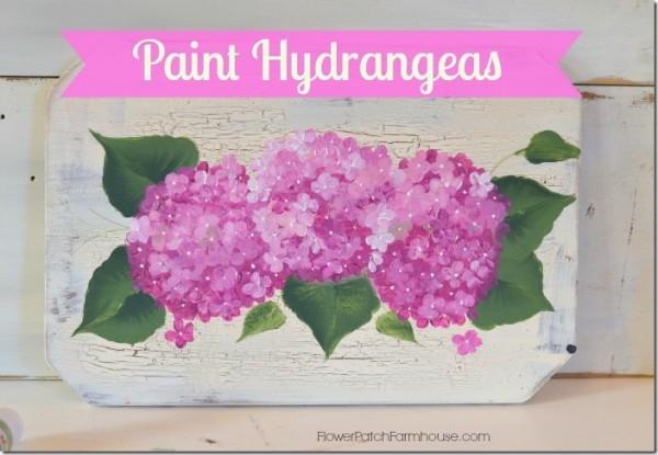 FlowerPatchFarmhousePaint-Hydrangeas