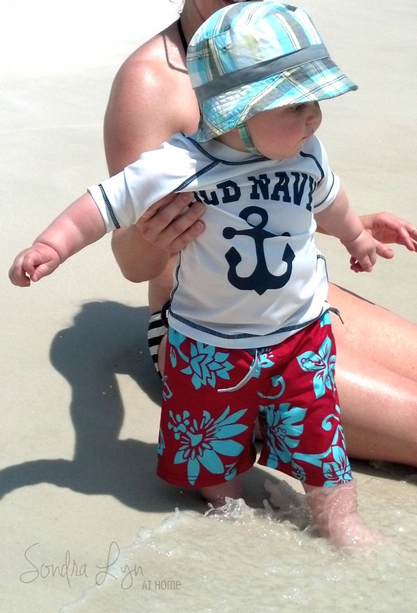 Beach Baby- Sondra Lyn at Home