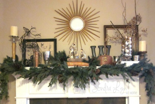 ChristmasMantle2012 - Sondra Lyn at Home