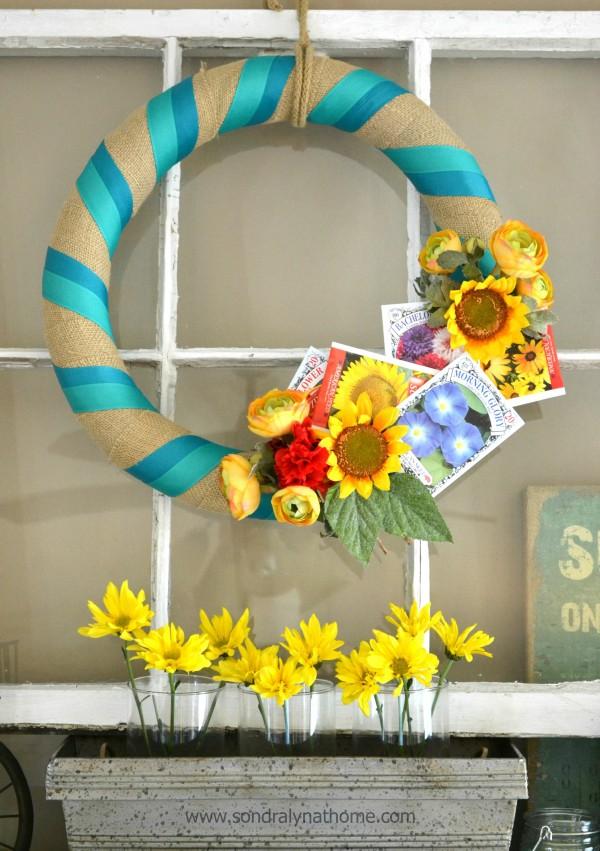 Summer Home Tour Wreath --- Sondra Lyn at Home