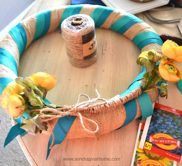 Summer Wreath-seed packets-Sondra Lyn at Home