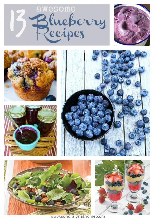 Blueberry Collage - SondraLynAtHome