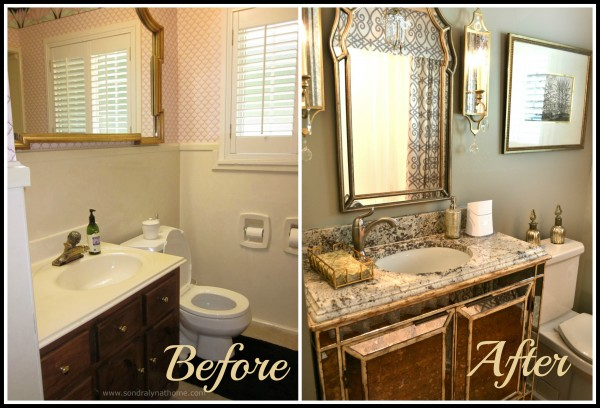 Before and After- Sondra Lyn at Home
