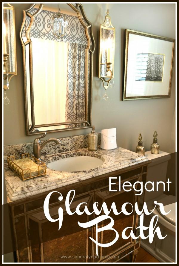 Elegant Glamour Bath -- Sondra Lyn at Home