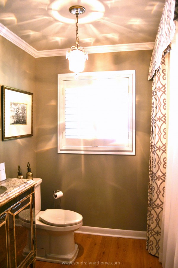 Glam Hall Bath--- Sondra Lyn at Home
