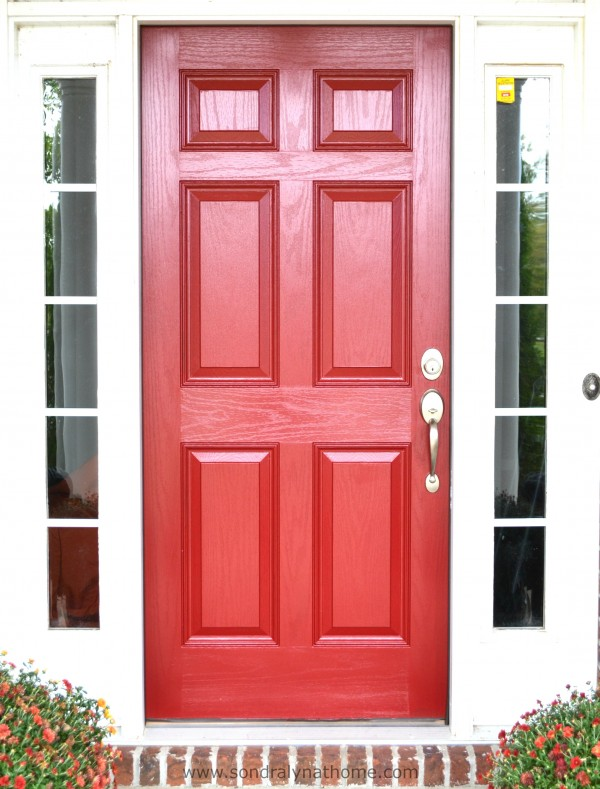 Front Door Redo- Sondra Lyn at Home