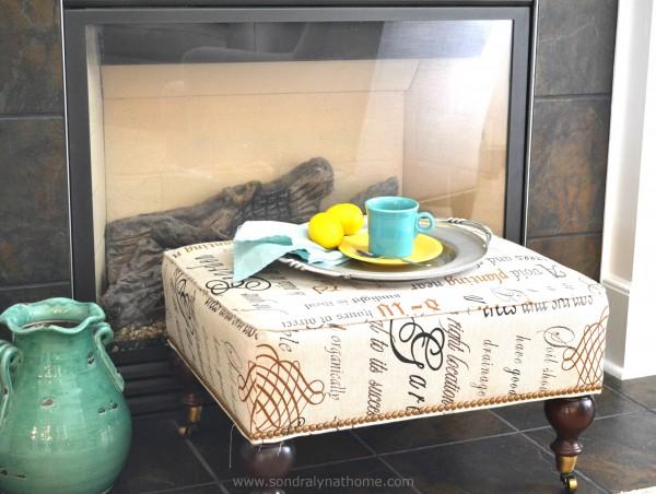 Styling Summer Mantel- Sondra Lyn at Home