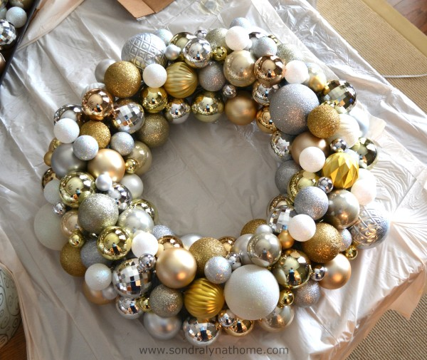 Christmas Ball Wreath - SondraLynatHome