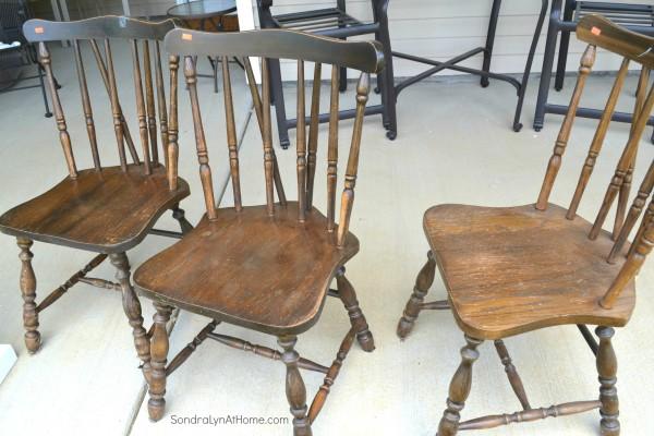 Chalk Paint Recipe- Chairs- Sondra Lyn at Home-w
