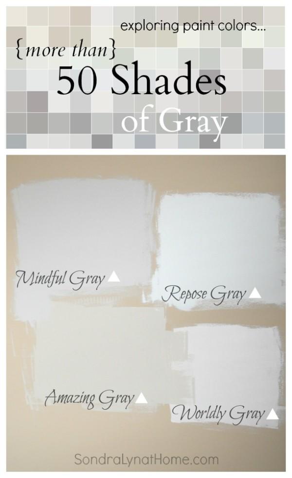 More than 50 Shades of Gray -- Sondra Lyn at Home