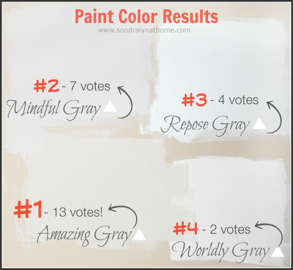 Paint Color Contest Results