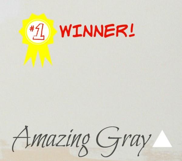 Winner- AmazingGray