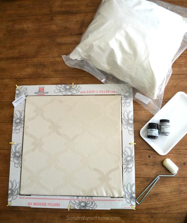 Paint-A-Pillow Kit - Sondra Lyn at Home