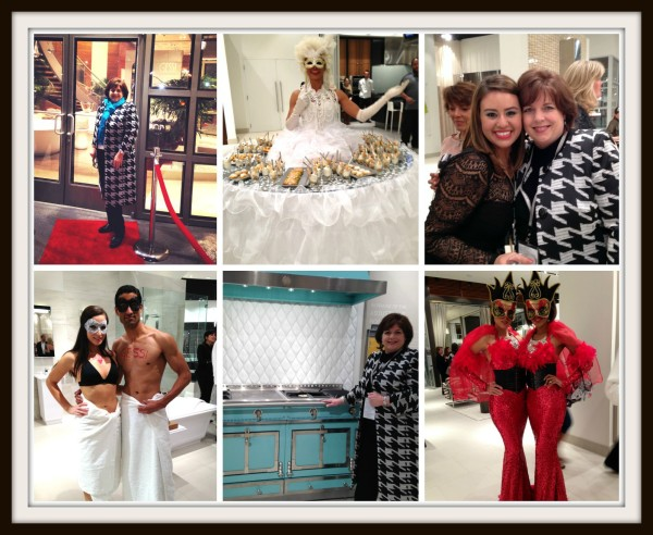 Pirch Italian Masquerade Event -- Sondra Lyn at Home