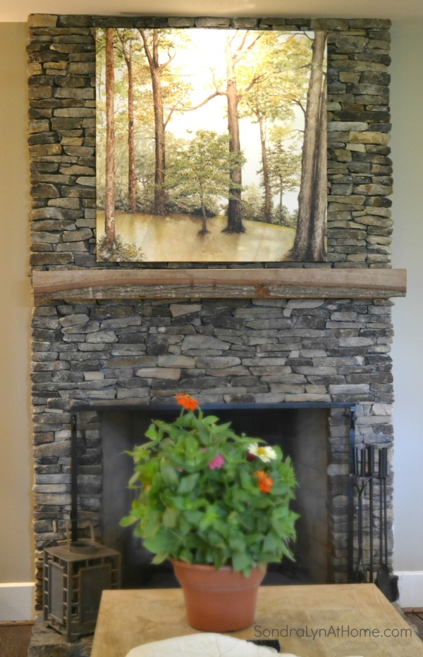 A Country Housewarming - Fireplace - Sondra Lyn at Home-