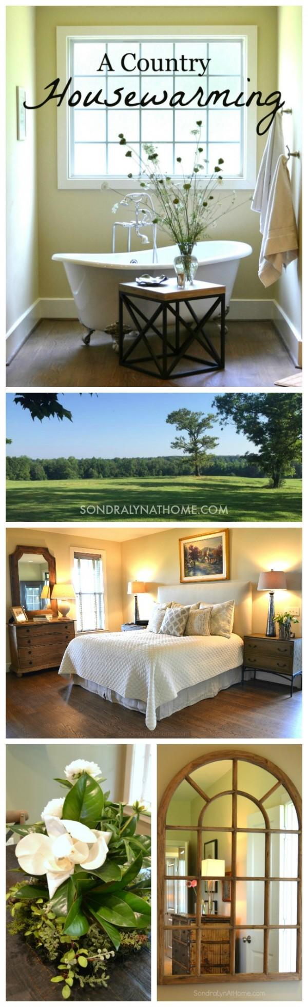 A Country Housewarming - Pinnable - Sondra Lyn at Home-
