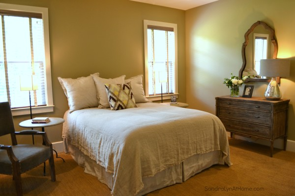 A Country Open House-Bedroom- Sondra Lyn at Home-