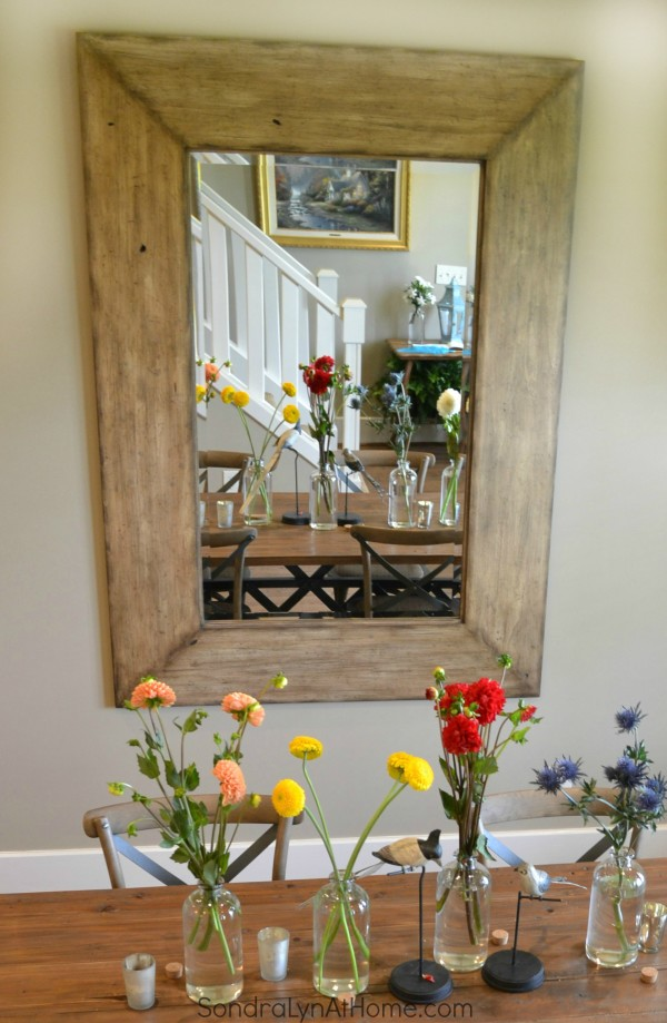 A Country Open House- Dining Room - Sondra Lyn at Home-