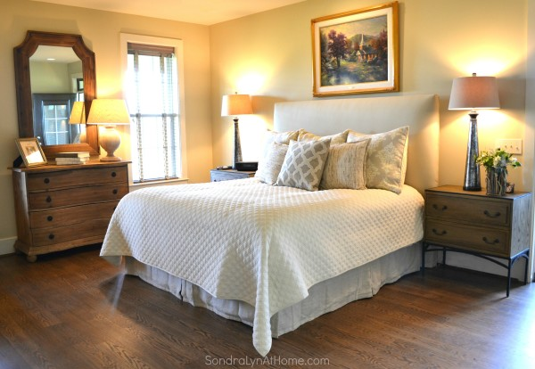 A Country Open House-Master Bedroom- Sondra Lyn at Home-