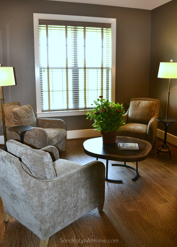 A Country Open House- Sitting Room --Sondra Lyn at Home-