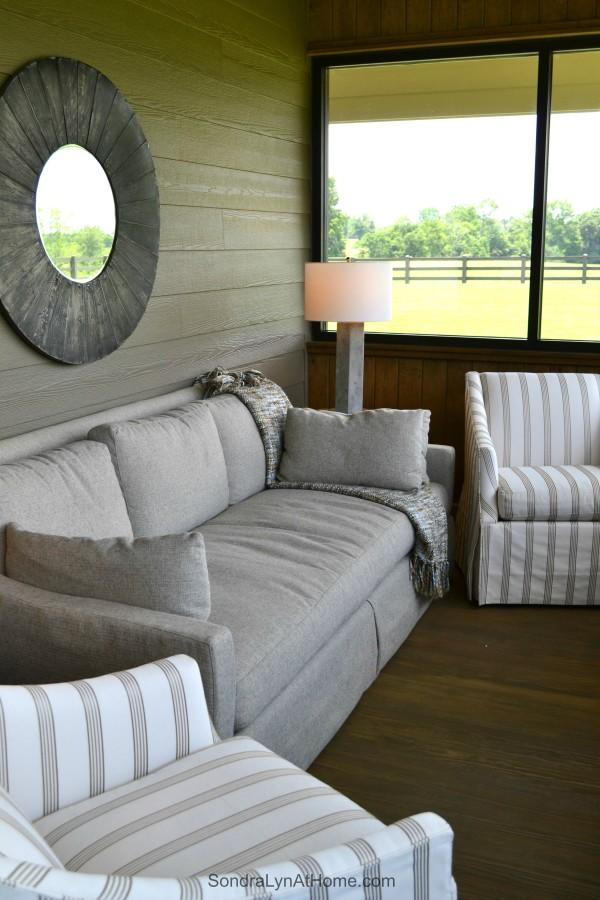 A Country Open House-Sun Porch- Sondra Lyn at Home-