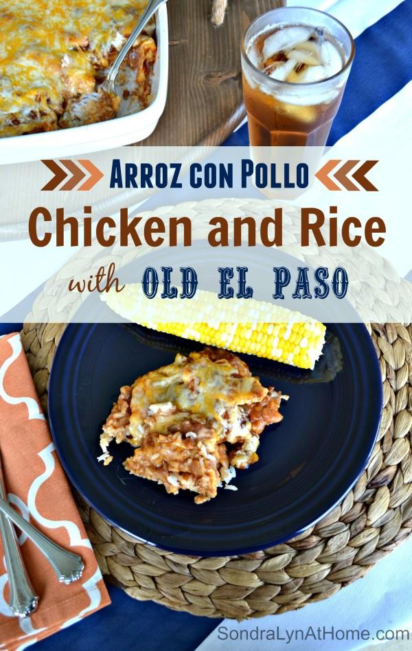 Arroz con Pollo - Chicken and Rice - Sondra Lyn at Home