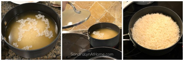 Arroz con Pollo -- Cooking Rice -- Sondra Lyn at Home