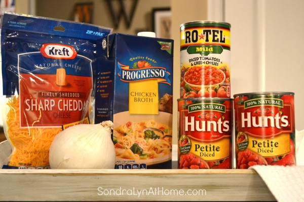 Red Chicken Chili Ingredients - Sondra Lyn at Home