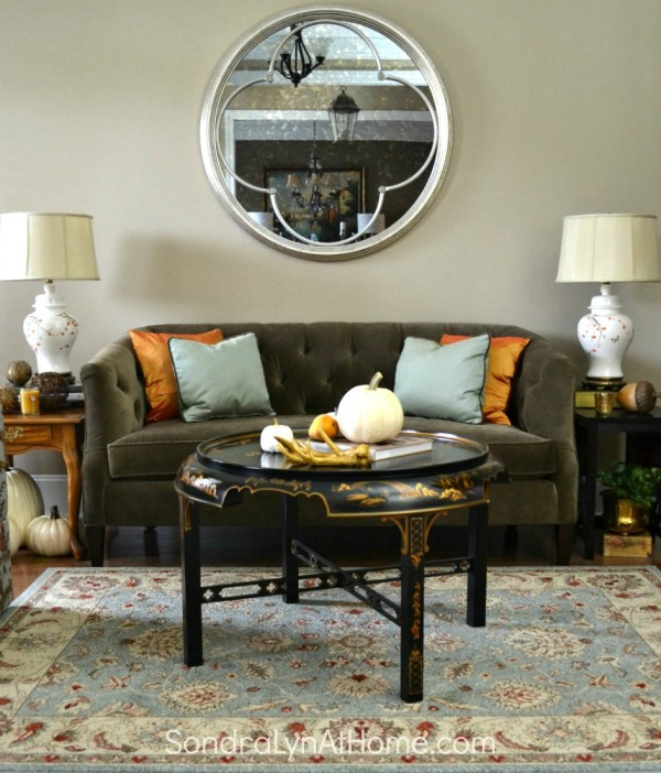 Bringing Fall Home - Styling Ideas and Tips - Sondra Lyn at Home.com