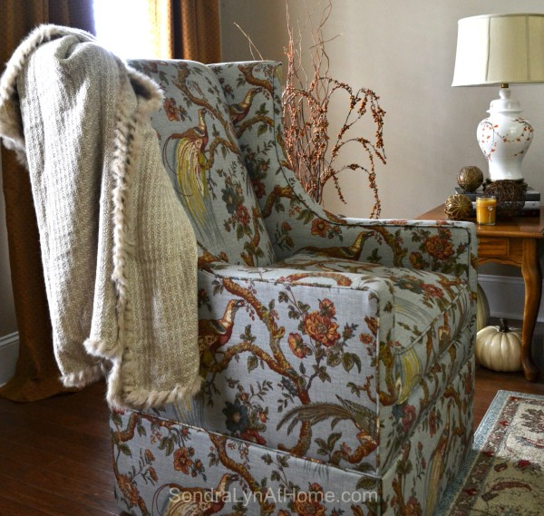 Bringing Fall Home - Styling Ideas and Tips --Sondra Lyn at Home.com