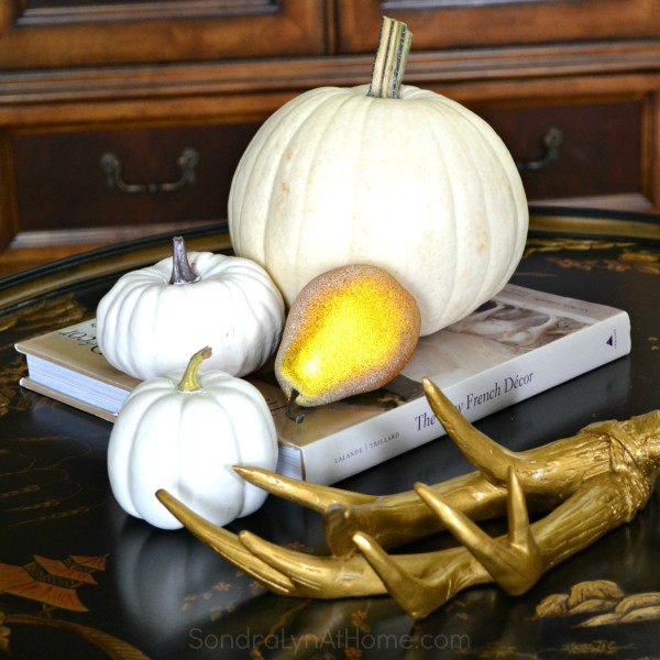 Bringing Fall Home - Styling Ideas and Tips with Sondra Lyn at Home.com