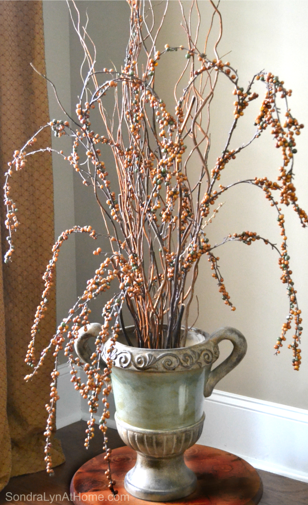 Bringing Fall Home - Styling Tips and Ideas -- Sondra Lyn at Home.com
