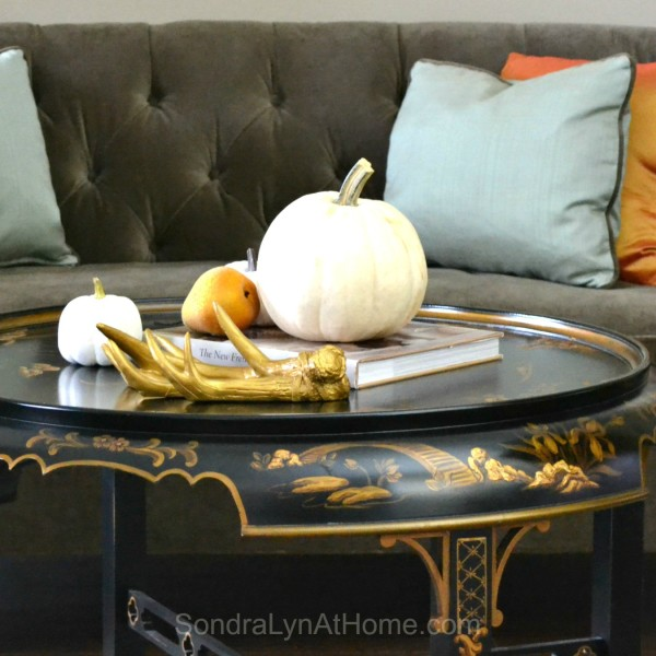 Bringing Fall Home - Styling Tips and Ideas - Sondra Lyn at Home.com