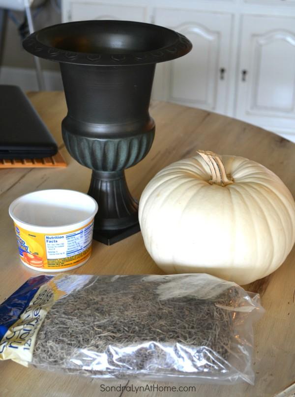 PumpkinTopiary Supplies- SondraLyn at Home