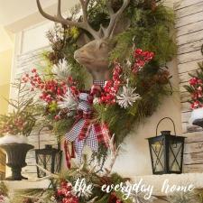 snowy-plaid-christmas-mantel-the-everyday-home
