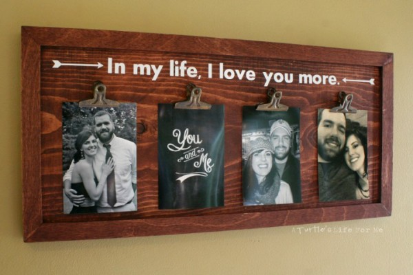 Wood Clip Photo Art