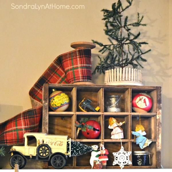 20-Minute Christmas Mantel - Sondra Lyn at Home