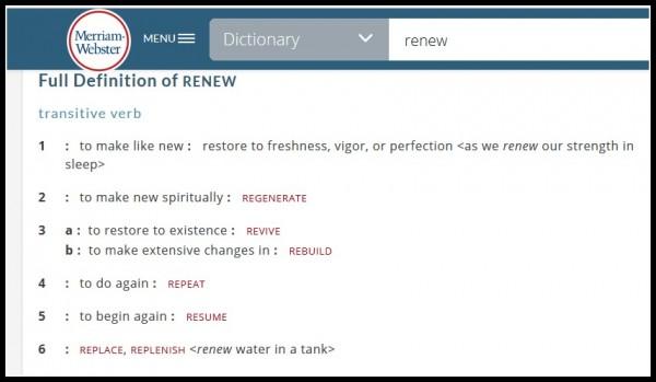 RENEW_definition -