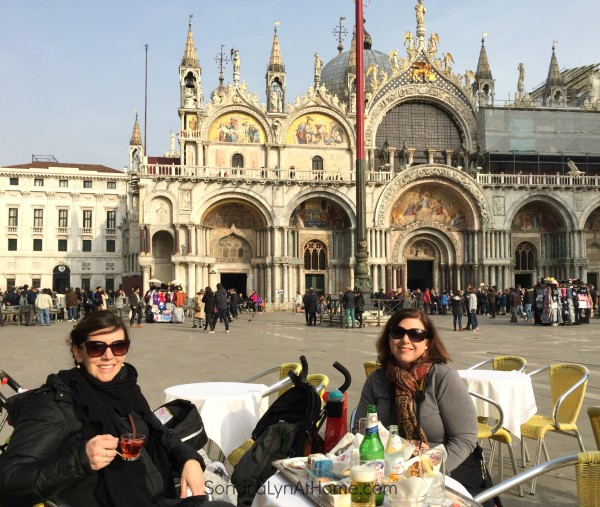 Al Fresco in San Marco Square - Sondra Lyn at Home.com
