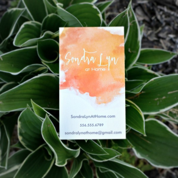 Sondra Lyn at Home Business Card